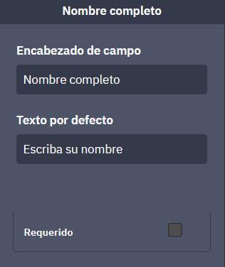 ActiveCampaign un formulario