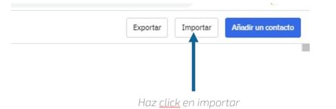Google Spreadsheets integración ActiveCampaign