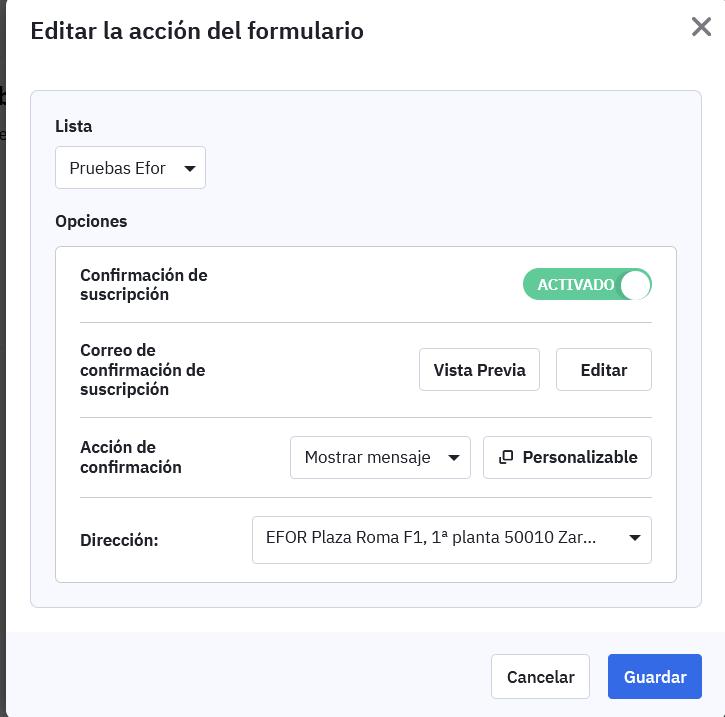 ActiveCampaign con google forms