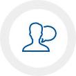 Equipo especializado en comunicación en redes sociales