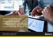 Aplicar técnicas de BI a los procesos de compra con Demetra