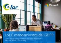 Los 6 mandamientos del GDPR