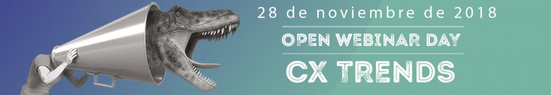 OPEN MARKETING WEBINAR DAY - CX TRENDS
