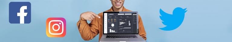 Visualiza y analiza los datos de tus Redes Sociales en cuadros de mando dinámicos