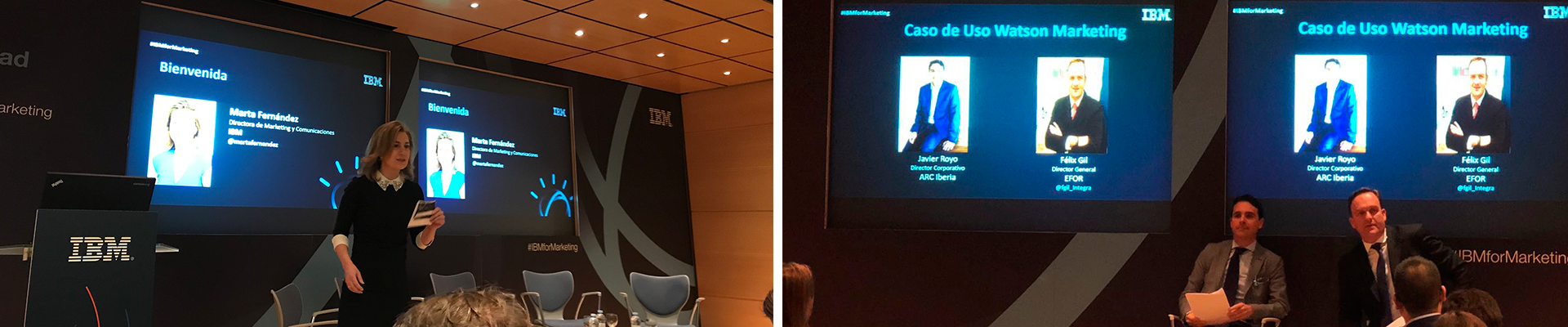 "EFOR participa en el evento ""La nueva realidad del marketing"" de IBM"